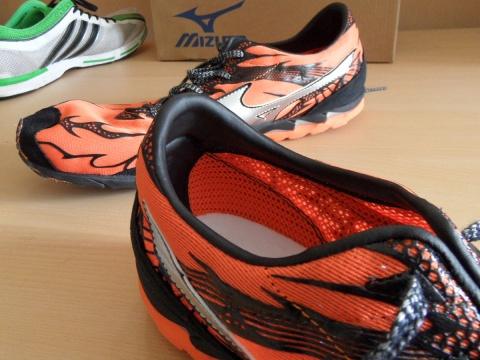 Mizuno Wave Universe 4 shoes - rigid heel
