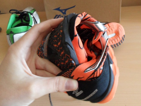 Mizuno Wave Universe 4 shoes - flexible sole