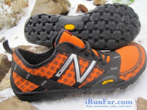 New Balance minimus trial - pics from Bryan Powell