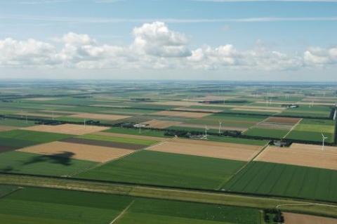 Air foto of flevoland