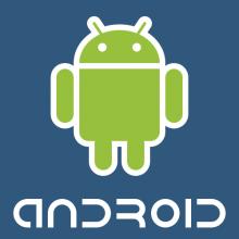 Android logo - runnig app tests