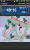 map as shown in runkeeper
