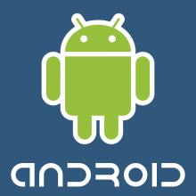 Android logo - runnig app tests